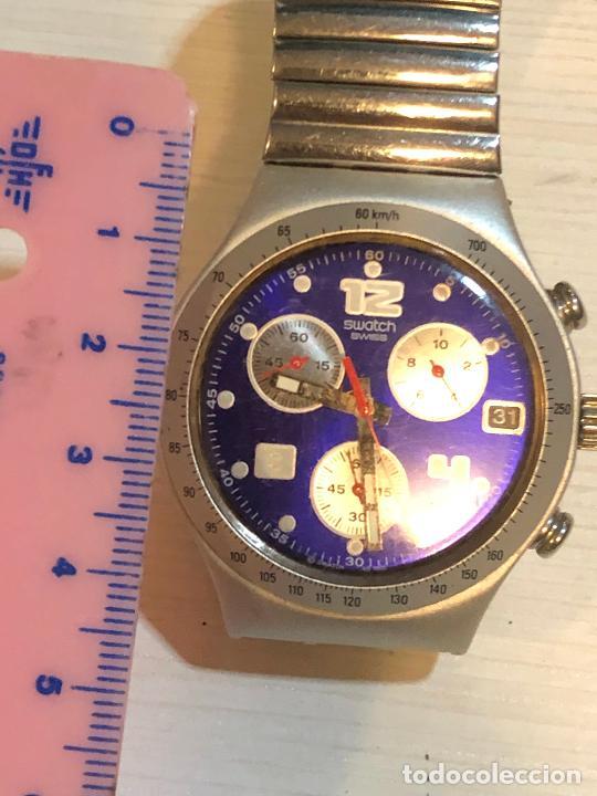 Relojes - Swatch: Antiguo reloj Swatch - Swiiss Made bonita esfera CRONOGRAFO funcionamiento batería nueva. Ver fotos - Foto 3 - 224712026