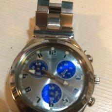 Relojes - Swatch: ANTIGUO RELOJ SWATCH - SWIISS MADE BONITA ESFERA CRONOGRAFO FUNCIONAMIENTO BATERÍA NUEVA. VER FOTOS. Lote 224712150