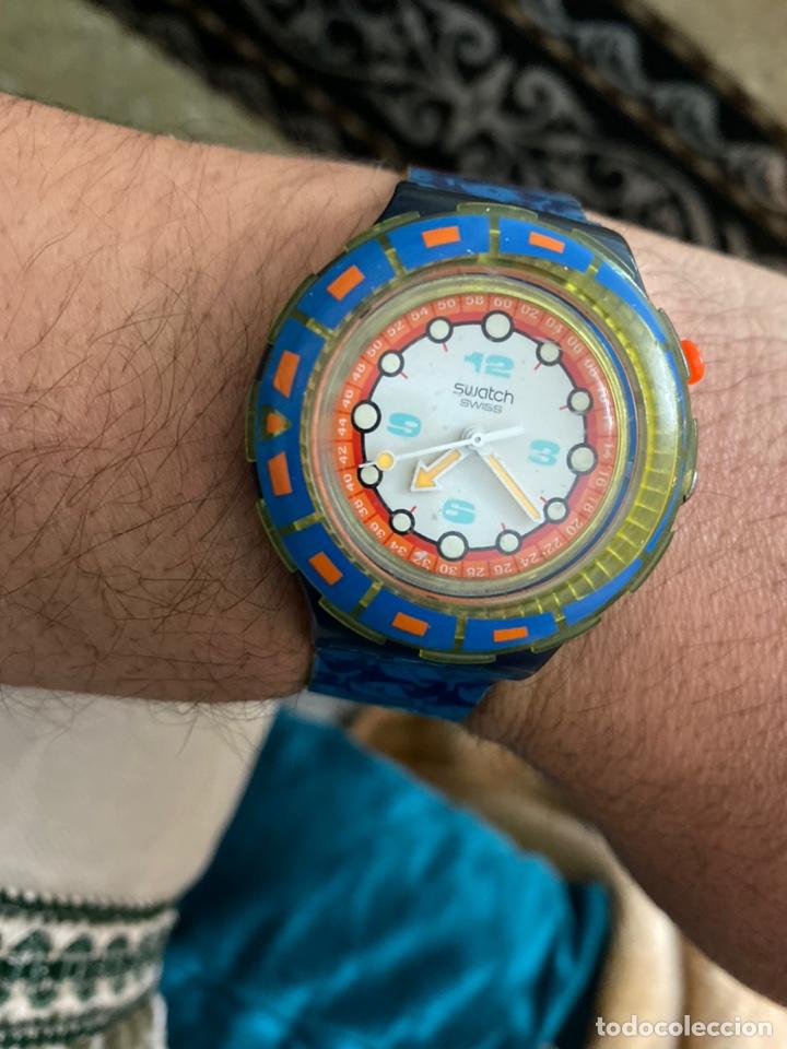 Relojes - Swatch: Antiguo reloj swatch unisex coleccionable muy curioso . Ver fotos - Foto 2 - 225638330