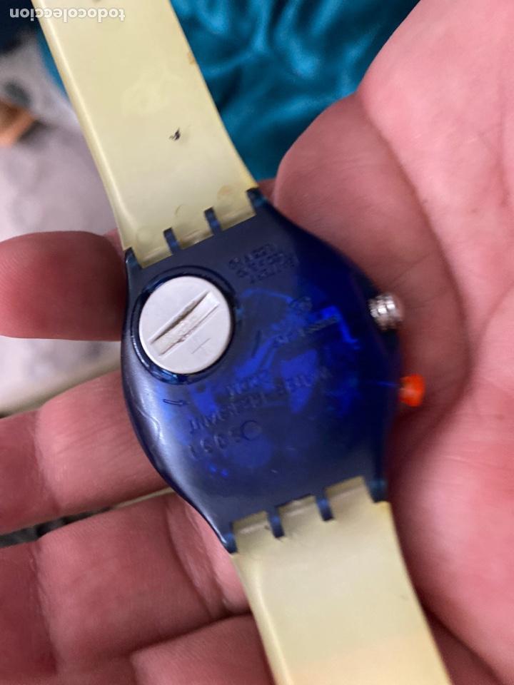 Relojes - Swatch: Antiguo reloj swatch unisex coleccionable muy curioso . Ver fotos - Foto 3 - 225638330
