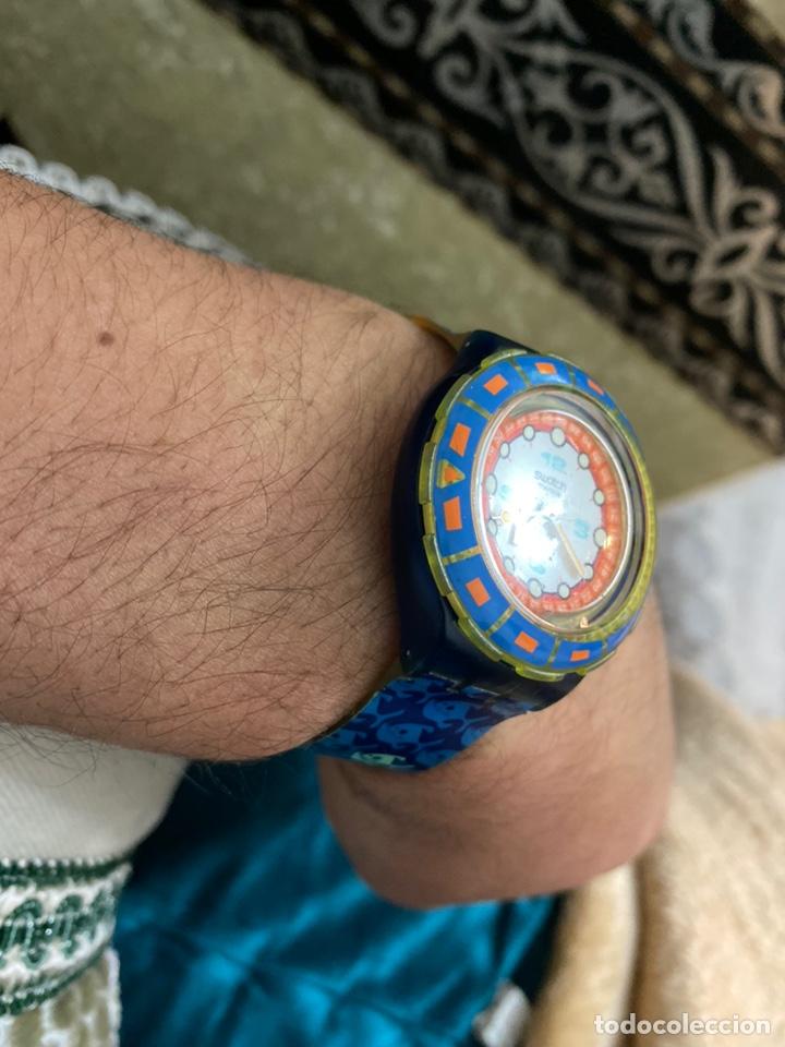 Relojes - Swatch: Antiguo reloj swatch unisex coleccionable muy curioso . Ver fotos - Foto 4 - 225638330