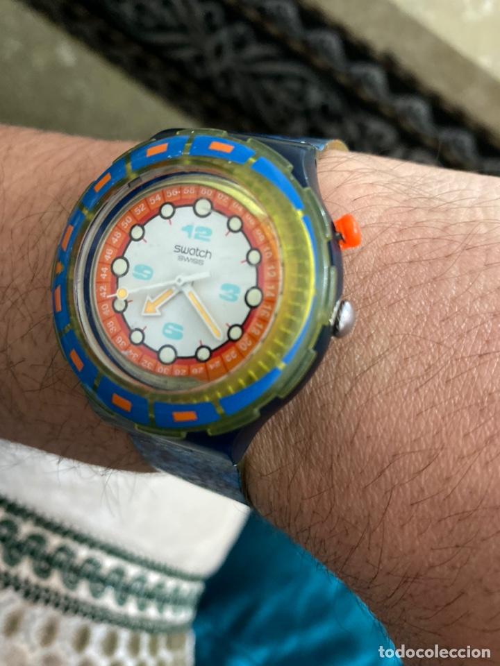 Relojes - Swatch: Antiguo reloj swatch unisex coleccionable muy curioso . Ver fotos - Foto 5 - 225638330