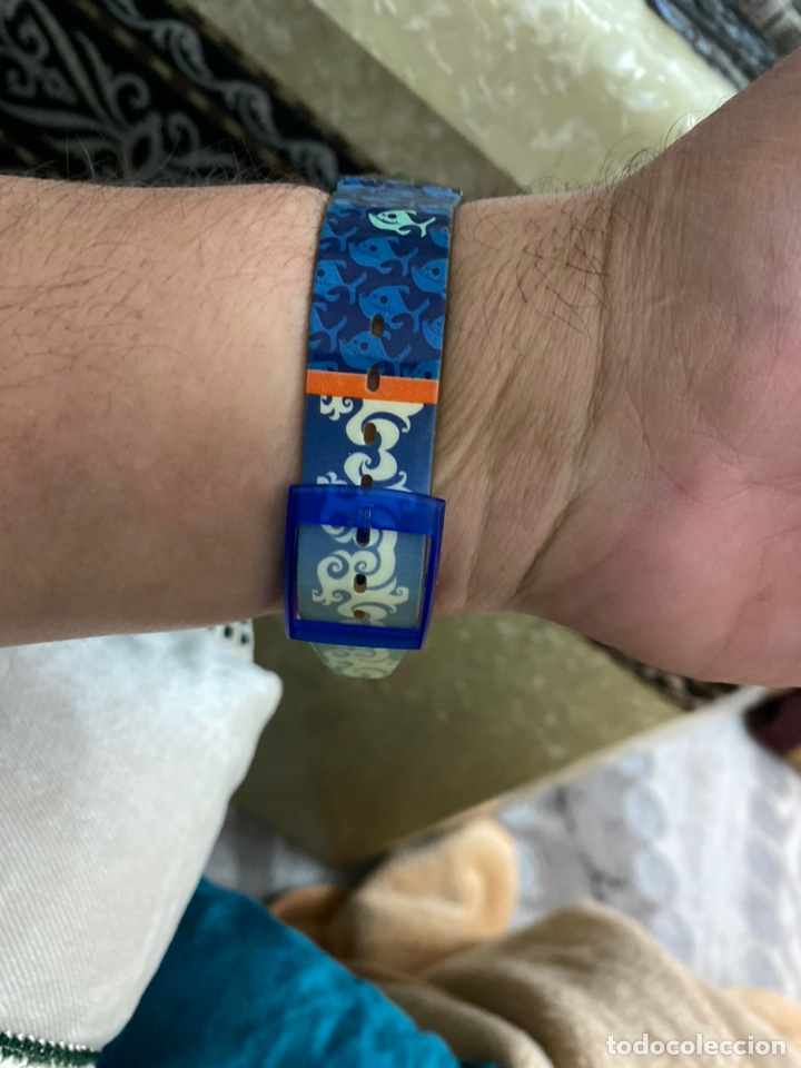 Relojes - Swatch: Antiguo reloj swatch unisex coleccionable muy curioso . Ver fotos - Foto 6 - 225638330