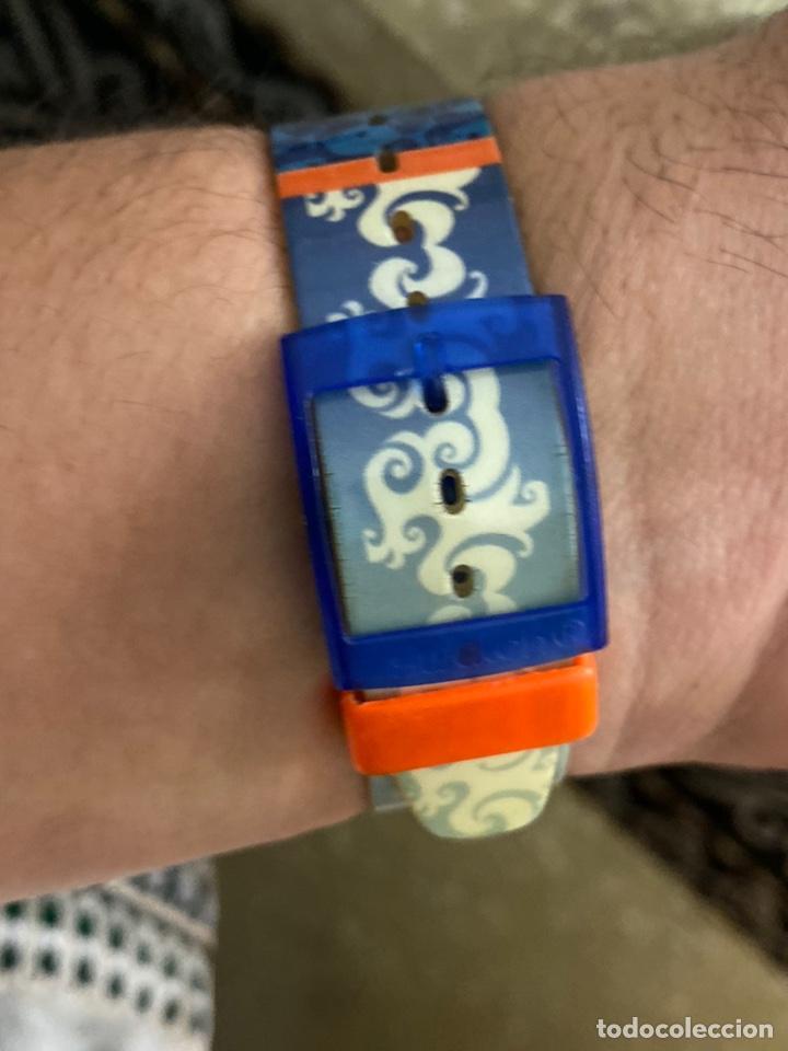 Relojes - Swatch: Antiguo reloj swatch unisex coleccionable muy curioso . Ver fotos - Foto 8 - 225638330