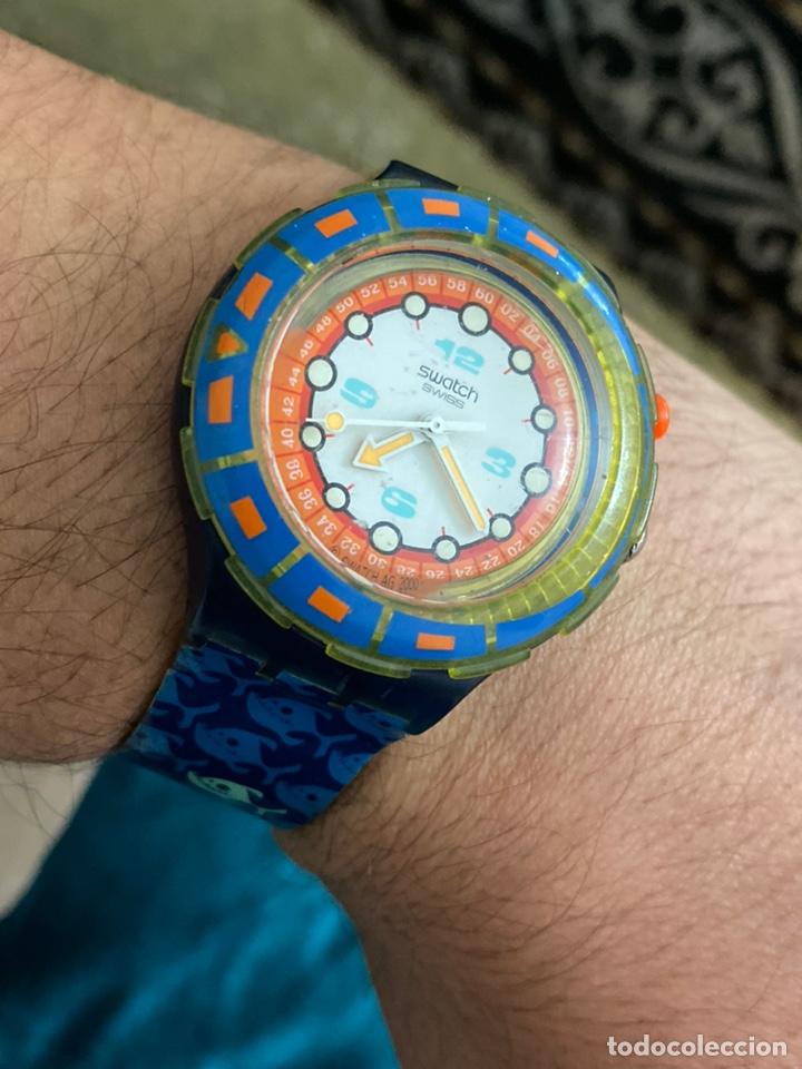 Relojes - Swatch: Antiguo reloj swatch unisex coleccionable muy curioso . Ver fotos - Foto 9 - 225638330