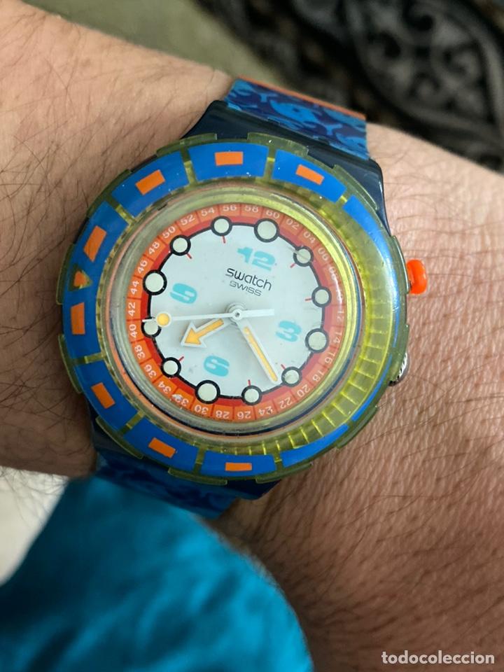 ANTIGUO RELOJ SWATCH UNISEX COLECCIONABLE MUY CURIOSO . VER FOTOS (Relojes - Relojes Actuales - Swatch)