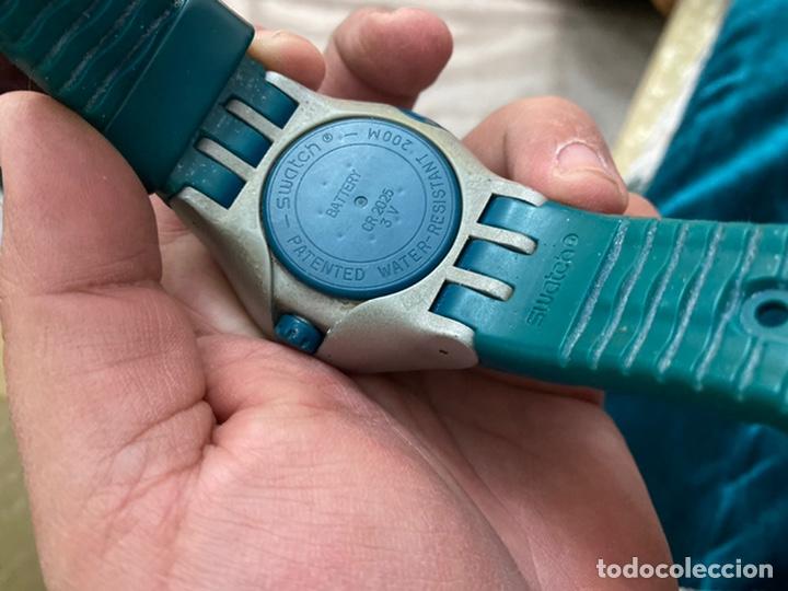 Relojes - Swatch: Reloj años 90 Swatch Rip Tide (SUGM102) fun scoba con resistencia al agua (200 metros / 650 pies) - Foto 2 - 229127726