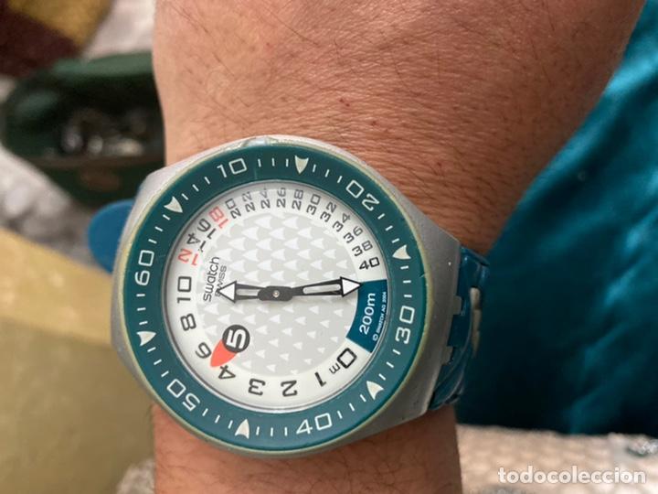 RELOJ AÑOS 90 SWATCH RIP TIDE (SUGM102) FUN SCOBA CON RESISTENCIA AL AGUA (200 METROS / 650 PIES) (Relojes - Relojes Actuales - Swatch)