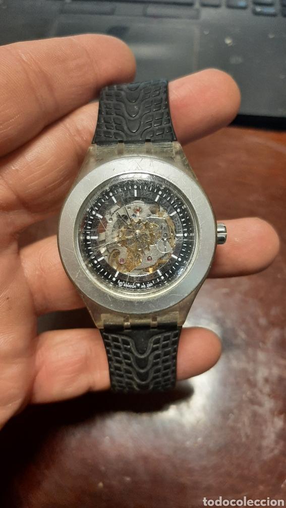 RELOJ SWATCH AUTOMATICO DIAPHANE FUNCIONA (Relojes - Relojes Actuales - Swatch)