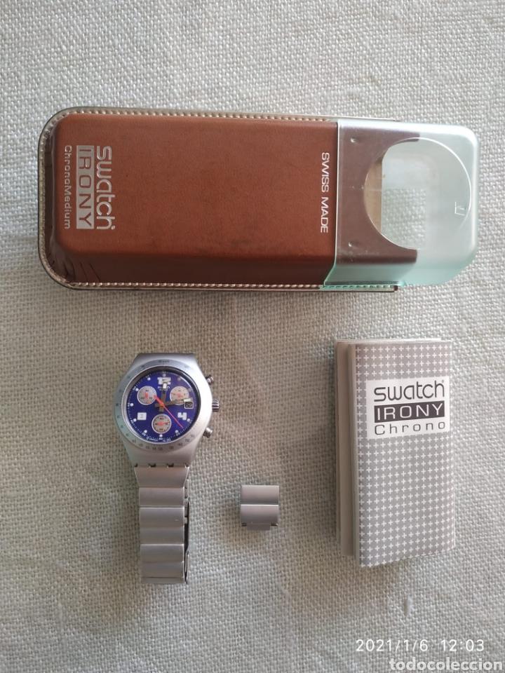 Relojes - Swatch: Reloj swatch acero mate - Foto 5 - 234781145