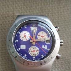 Relojes - Swatch: RELOJ SWATCH ACERO MATE. Lote 234781145