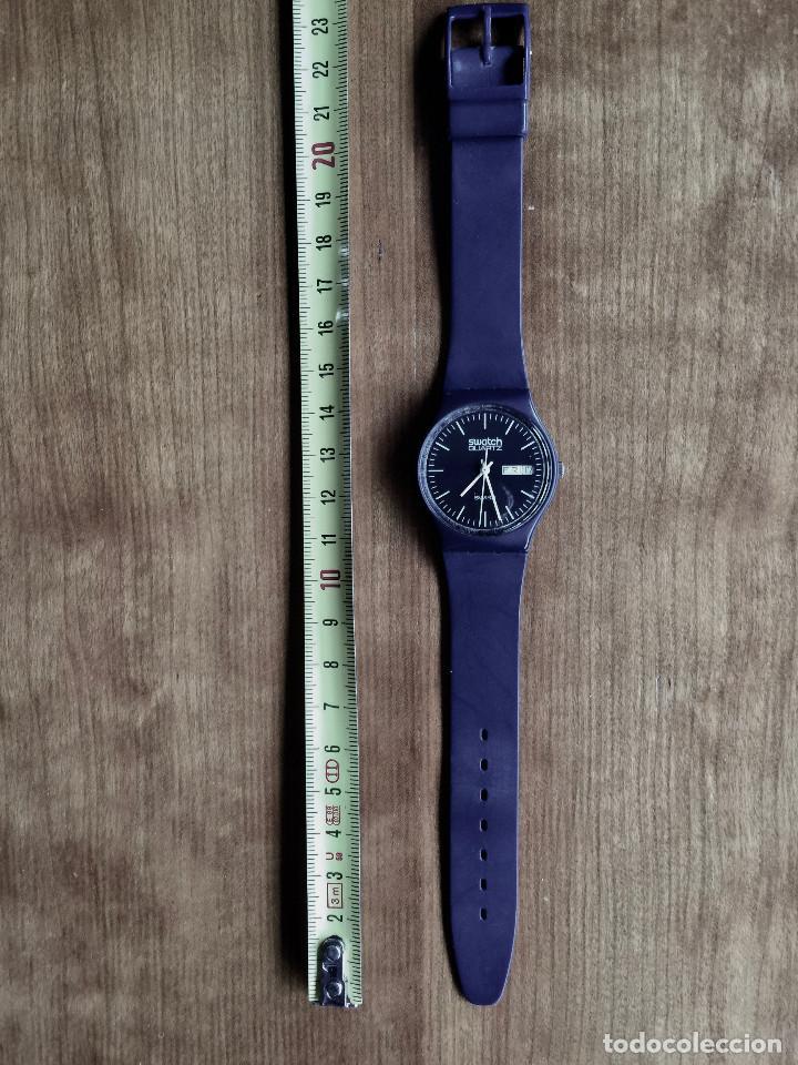 Relojes - Swatch: SWATCH GN700 RELOJ DE PULSERA VINTAGE DE 1983 – SUIZO ORIGINAL, DE LA PRIMERA SERIE – 7 AGUJEROS - Foto 6 - 235999340
