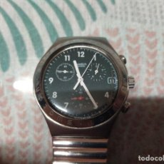 Relojes - Swatch: RELOJ SWATCH SWISS AG 1996 CORREA ORIGINAL MIREN FOTOS. Lote 239919945