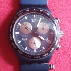 Orologi - Swatch: RELOJ SWATCH IRONY CHRONOGRSPHE ALUMINIUM CUARZO.MIDE 40 MM DIAMETRO. Lote 241069050