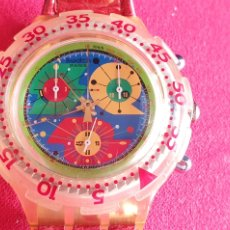 Orologi - Swatch: RELOJ SWATCH CHRONO CUARZO .MIDE 44 MM DIAMETRO. Lote 241209945