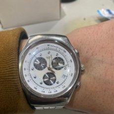 Relojes - Swatch: RELOJ SWATCH CRONÓGRAFO.TAMAÑO GRANDE 49.4 MM CONTANDO LA CORONA . VER FOTOS. Lote 241839650