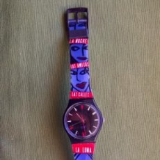 Relojes - Swatch: RELOJ SWATCH. MADRID ME MATA. MARINÉ. Lote 249395290
