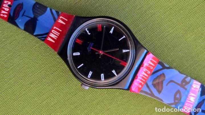 Relojes - Swatch: Reloj Swatch. Madrid Me Mata. Mariné - Foto 4 - 249395290