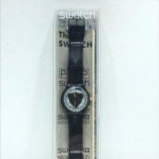 Montres - Swatch: RELOJ DE PULSERA MARCA SWATCH MODELO SCUBA 200 CON CORREA DE PIEL EN EMBALAJE ORIGINAL. Lote 254180585
