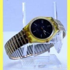 Relojes - Swatch: RELOJ, SWATCH, . AG 1997. AMARILLO. Lote 254984365