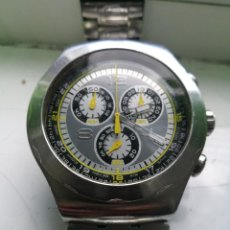 Relojes - Swatch: SWATCH 007 CRONO. TODO ACERO. 47 MM.. Lote 255375725