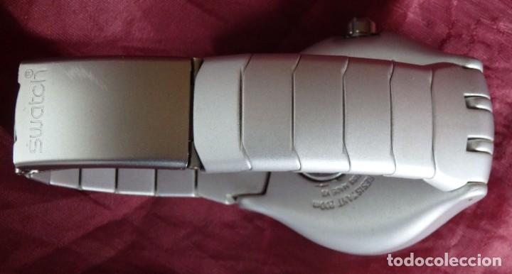 Relojes - Swatch: RELOJ SWATCH IRONY SCUBA 200 METROS BUCEO AG1998 DE ALUMINIO FUNCIONANDO - Foto 8 - 255920380