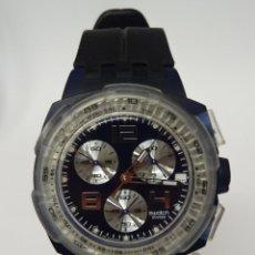 Relojes - Swatch: RELOJ SWATCH ORIGINALS CHRONO NITESPEED. Lote 257799460