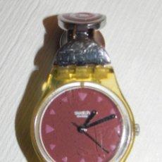 Montres - Swatch: RELOJ SWATCH SEÑORITA 2003, FUNCIONANDO. Lote 264825834