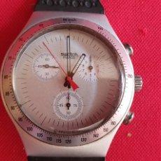Montres - Swatch: RELOJ SWATCH IRONY CHRONO ALUMINIUM CUARZO .MIDE 39.5 MM DIAMETRO NO PROBADO. Lote 266110698