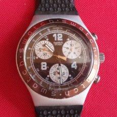 Montres - Swatch: SWATCH IRONY CUARZO ALUMINUM CHRONO MIDE 39.4 MM DIAMETRO NO PROBADO. Lote 266110918