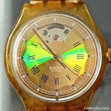 Relojes - Swatch: RELOJ AUTOMÁTICO SWATCH VINTAGE. CALIBRE ETA 2842 23 RUBÍES WALTER RESIST FUNCIONANDO CORRECTAMENTE. Lote 267014234