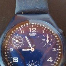 Relojes - Swatch: RELOJ SWATCH QUARTZ MULTIFUNCION COLECCION 2000 NUEVO PERFECTO. Lote 269034729