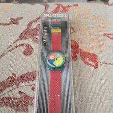 Montres - Swatch: SWATCH FLASH ARROW CHRONO SCL100 RELOJ RARA Y VALORADA PIEZA. Lote 270363573