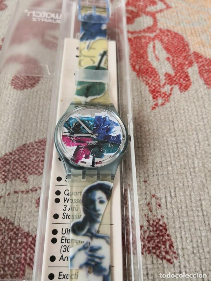 Relojes - Swatch: Swatch PHOTOSHOOTING GN122 , 1992 RELOJ - Foto 2 - 270365943