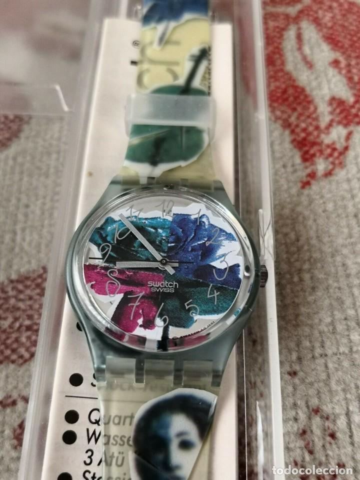 Relojes - Swatch: Swatch PHOTOSHOOTING GN122 , 1992 RELOJ - Foto 3 - 270365943