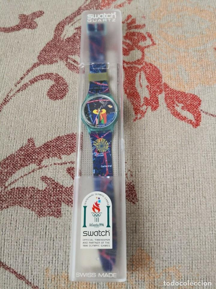 RARO SWATCH WATCH SPECIAL-OLYMPIC LAUSANNE MUSEUM GN161 RELOJ (Relojes - Relojes Actuales - Swatch)