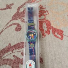 Relojes - Swatch: RARO SWATCH WATCH SPECIAL-OLYMPIC LAUSANNE MUSEUM GN161 RELOJ. Lote 270368013