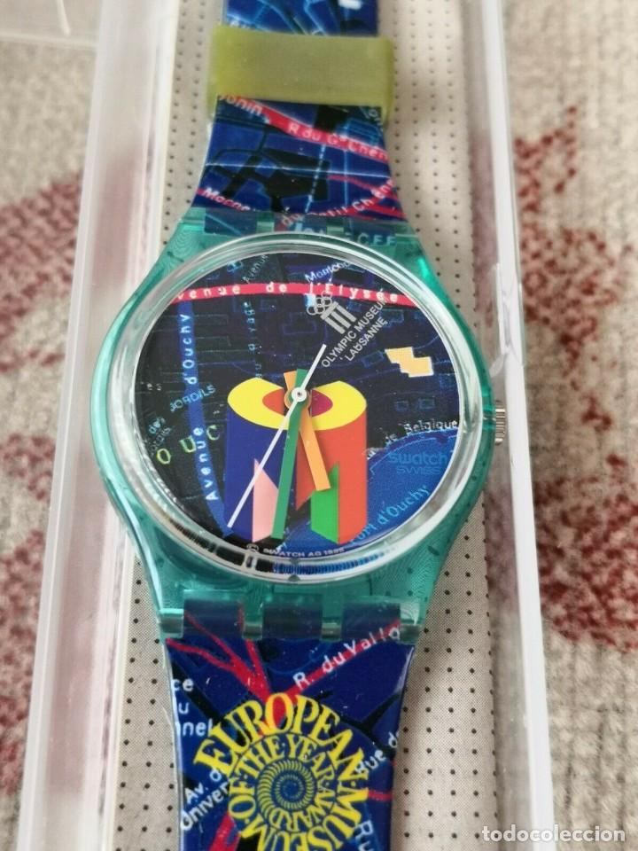 Relojes - Swatch: RARO Swatch Watch Special-Olympic Lausanne Museum GN161 RELOJ - Foto 2 - 270368013