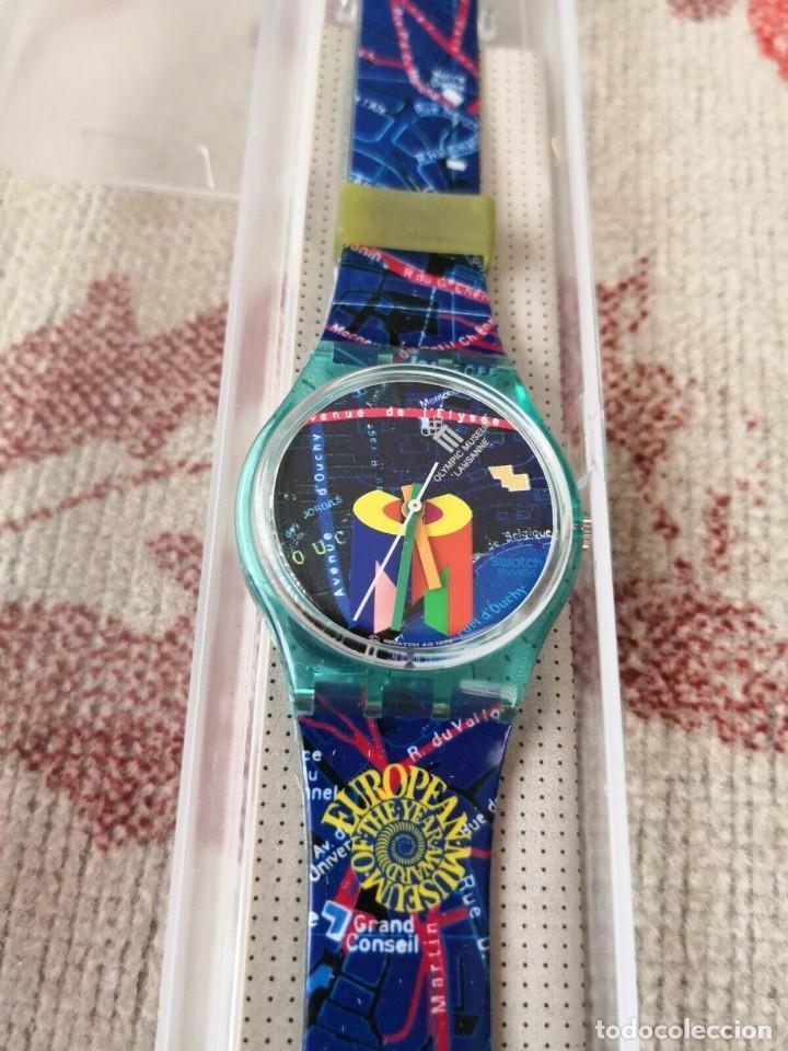 Relojes - Swatch: RARO Swatch Watch Special-Olympic Lausanne Museum GN161 RELOJ - Foto 3 - 270368013