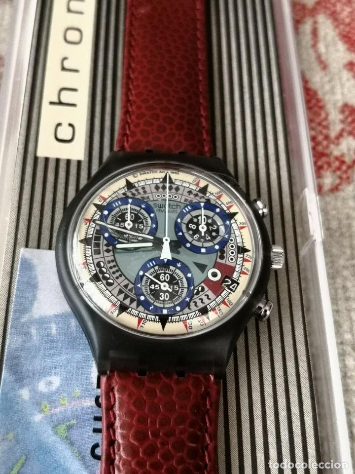 Relojes - Swatch: SWATCH Chrono ATZ - ECO SCM401 RELOJ - Foto 2 - 270368398