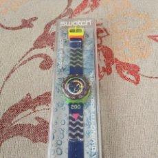 Relojes - Swatch: SWATCH SCUBA 200 COMING TIDE SDJ100 1992 RELOJ. Lote 270368738