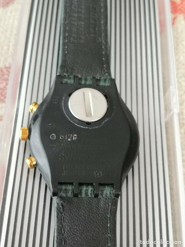 Relojes - Swatch: Swatch Chrono Rollerball SCB107 RELOJ CRONOGRAFO - Foto 3 - 270369323