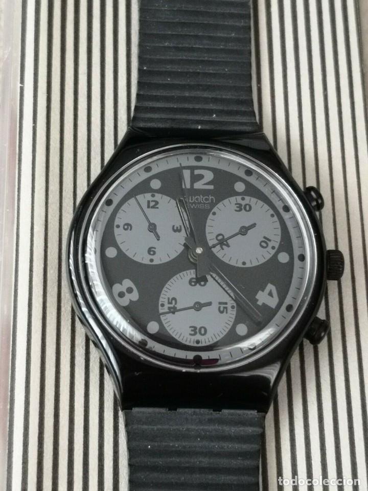 Relojes - Swatch: Swatch Chrono MOON SHADOW SCB110 RELOJ CRONOGRAFO - Foto 2 - 270369688
