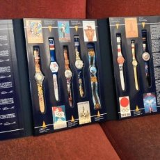 Montres - Swatch: SWATCH HISTORICAL OLYMPIC GAMES COLLECTION LIMITED EDITION EDICION LIMITADA 8 RELOJES. Lote 270370413