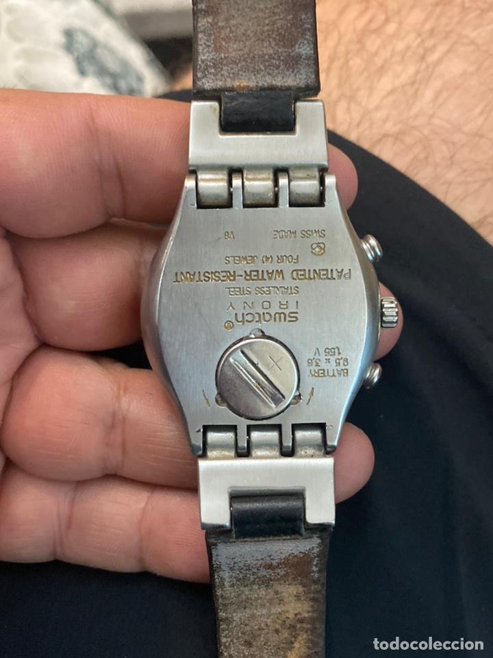 """Relojes - Swatch: Swatch - 2007 Reloj Swatch IRONY CHRONO Serie """"Escala de plateados - Foto 9 - 273120448"""