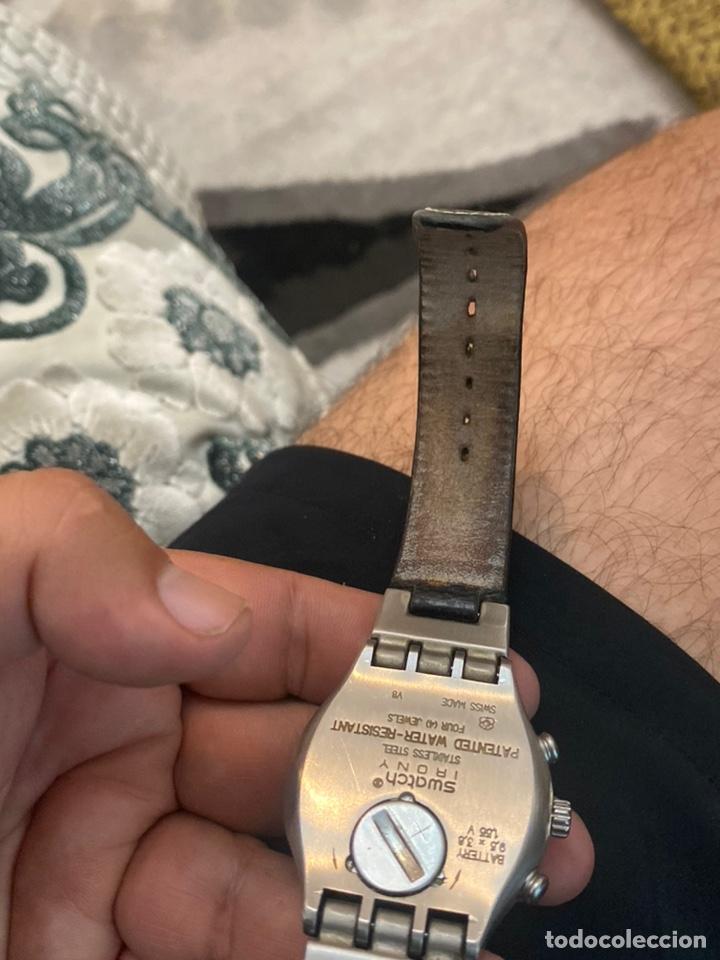 """Relojes - Swatch: Swatch - 2007 Reloj Swatch IRONY CHRONO Serie """"Escala de plateados - Foto 17 - 273120448"""