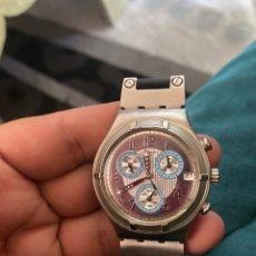 """Relojes - Swatch: SWATCH - 2007 RELOJ SWATCH IRONY CHRONO SERIE """"ESCALA DE PLATEADOS. Lote 273120448"""