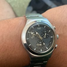 Relojes - Swatch: RELOJ SWATCH CRONOGRAFO AG 1999 . FUNCIONA PERFECTAMENTE. VER FOTOS. Lote 273125448