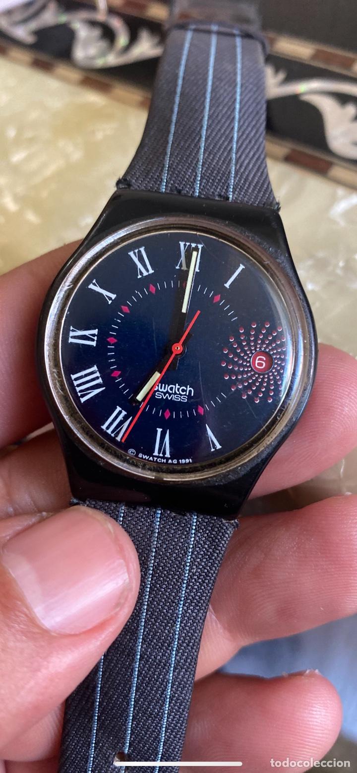 Relojes - Swatch: Reloj Swatch GB 416 BARAJAS Original Made in Switzerland 1991 - Foto 2 - 273128333