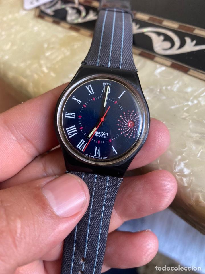 Relojes - Swatch: Reloj Swatch GB 416 BARAJAS Original Made in Switzerland 1991 - Foto 3 - 273128333
